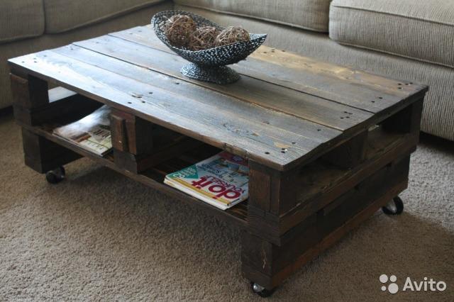 Стол из поддонов деревянных